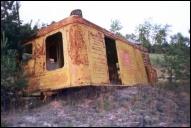 Останки торфопогрузчика-крана КТП-1 в Луполово