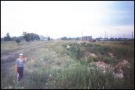 Панорама бывшей станции Балахна-Сорт.