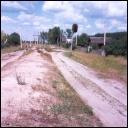 Светофор в Голышево на дороге со ст. Чистое