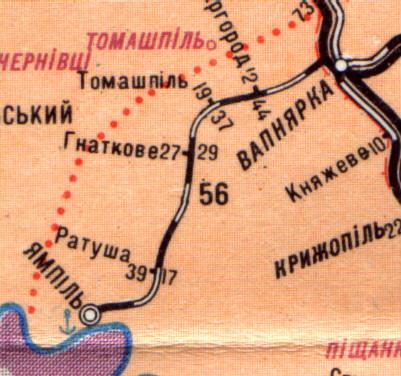 Карта 1998 г.