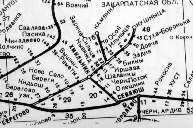 Карта из Атласа