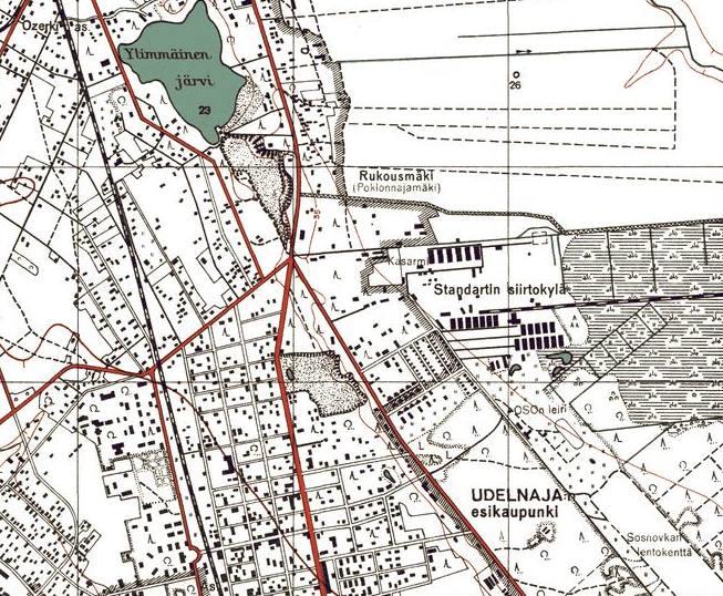 Карта 1943 г.