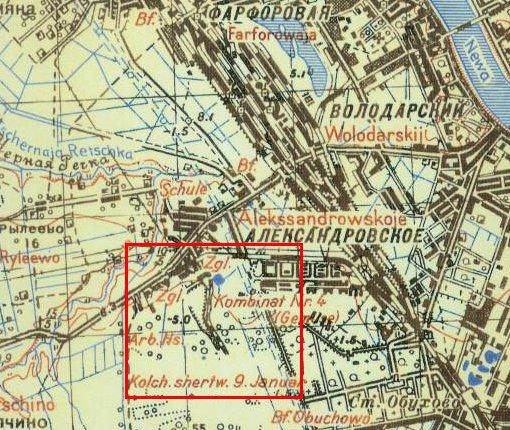 УЖД показана на карте 1930-х
